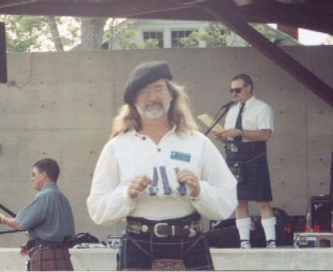 Bagpipe Competition winner, Culloden, GA 4/2001